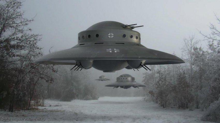 Летающие тарелки, изобретенные человеком в качестве транспортного средства