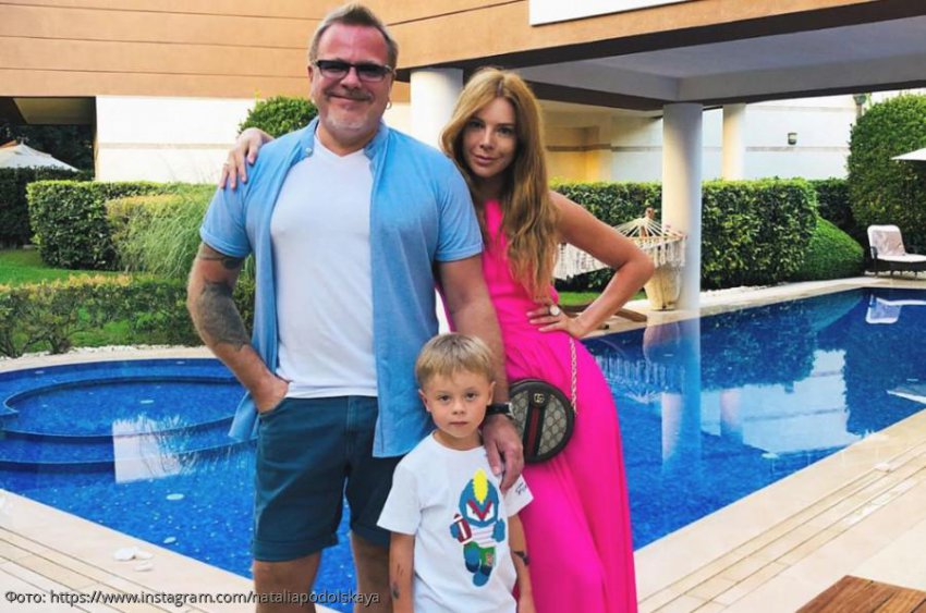 Наталья Подольская назвала своего сына «вымогателем подарков»