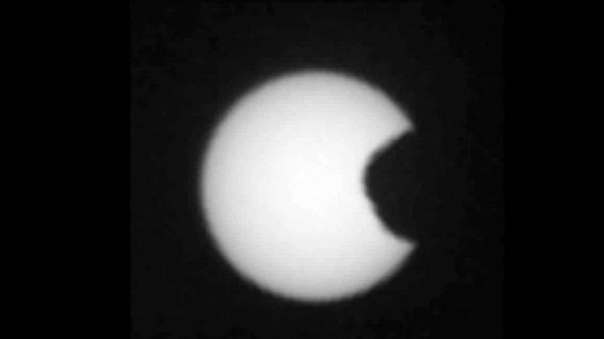 Марсоход Opportunity запечатлел солнечное затмение: опубликованы фото