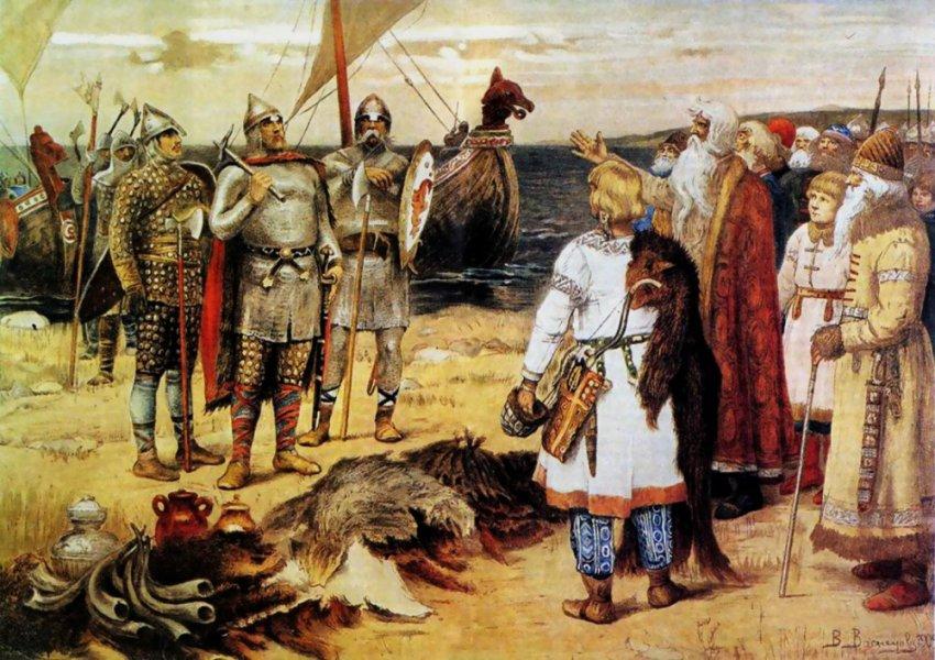 Русская история позаимствована у «викингов» и монголов?