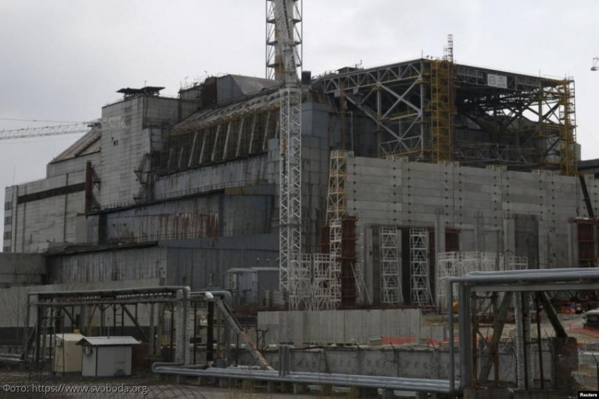 Чернобыльский саркофаг, созданный для сдерживания смертельного излучения, будет снесен