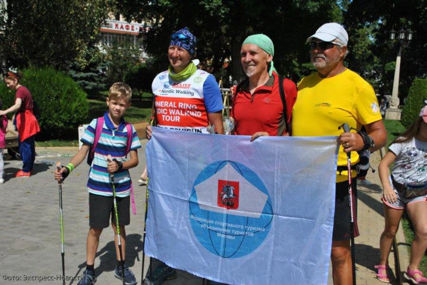 День физкультурника в Кисловодске отметили завершением нордик-тура «Минеральное кольцо»