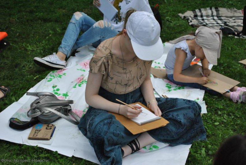 В Кисловодске проходит марафон «Рисуй весь август»