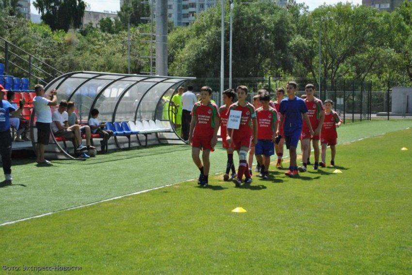 В Кисловодске определяют лучшую дворовую футбольную команду Ставрополья