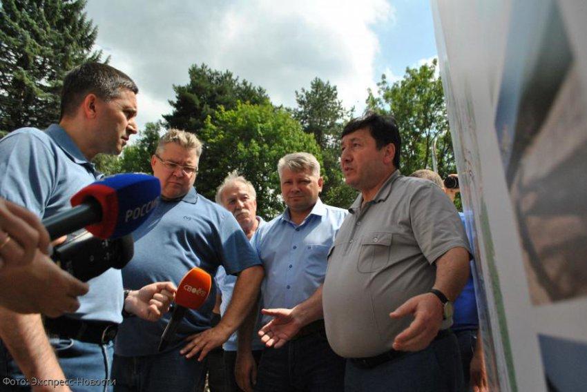 Министр природных ресурсов и экологии России Дмитрий Кобылкин оценил реализацию нацпроектов в Кисловодске
