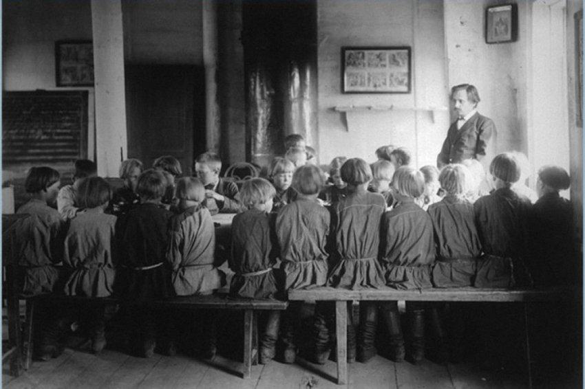 Миф об обязательном начальном образовании в царской России