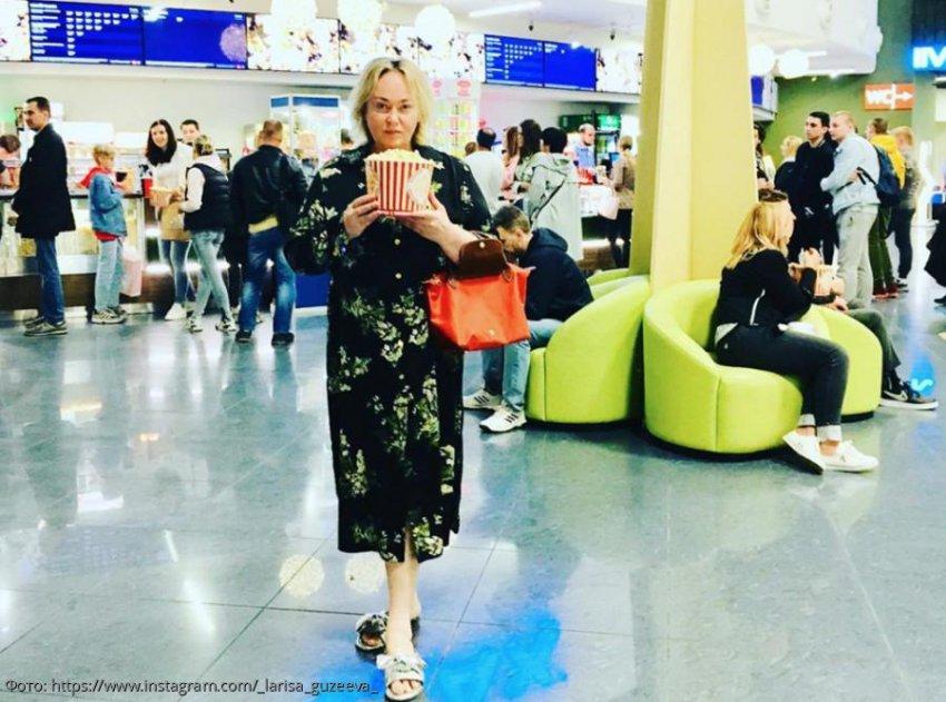 Лариса Гузеева с ведром попкорна подверглась массовой критике