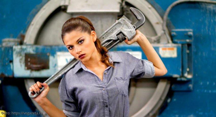 Инструмент, который должен быть в доме женщины, живущей без мужчины