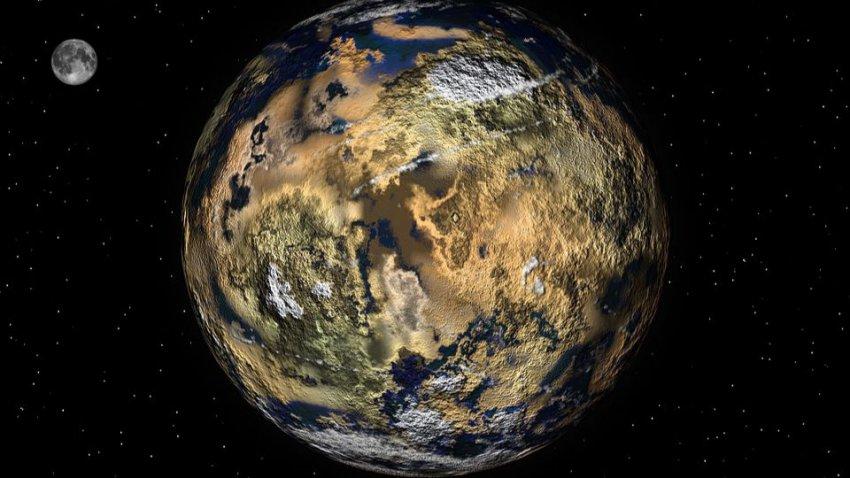 В нашей галактике существуют миллиарды планет земного типа