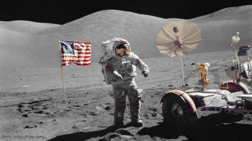 Камень, доставленный с Луны миссией «Аполлон-14», оказался куском земной породы