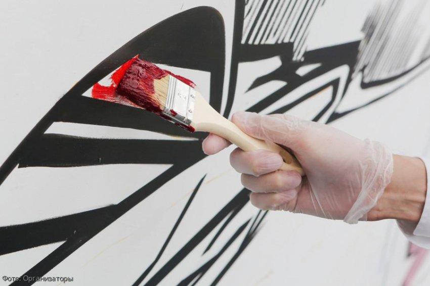 В Нижнем Новгороде создали гигантское граффити