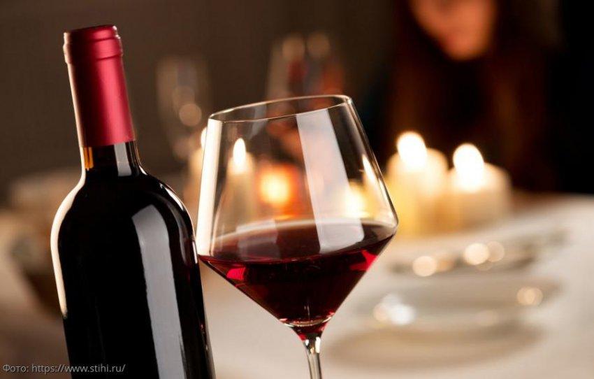 Полезные свойства красного сухого вина