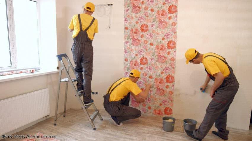 Хозяйка заставила рабочих-бездельников сделать ремонт, перессорив их между собой