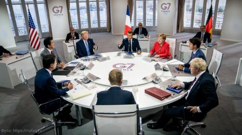 Президент США Трамп и лидеры G7 поссорились из-за возвращения России в «восьмёрку»