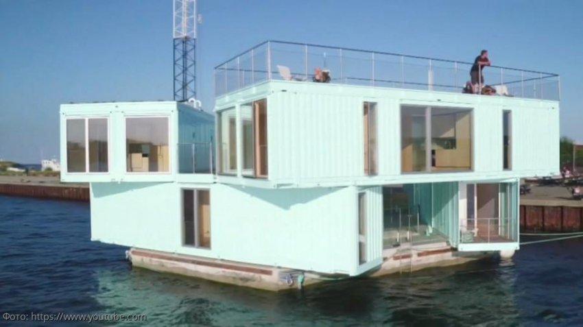 Предприниматель из Санкт-Петербурга создает дома-амфибии