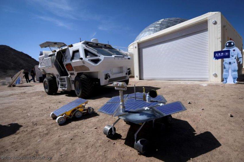Китай построил в пустыне Гоби марсианскую базу