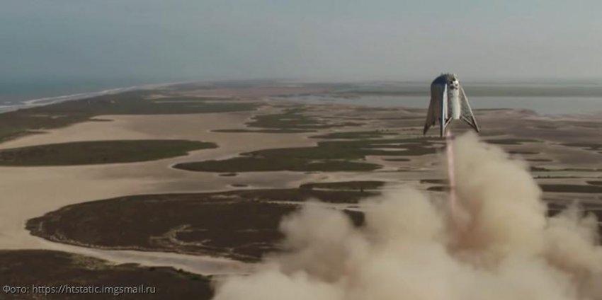 Компания Илона Маска SpaceX протестировала первый маневрирующий лунный корабль