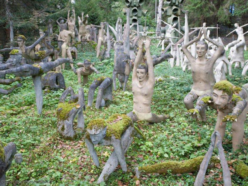 Парк скульптур в деревне Париккала для любителей пощекотать нервы