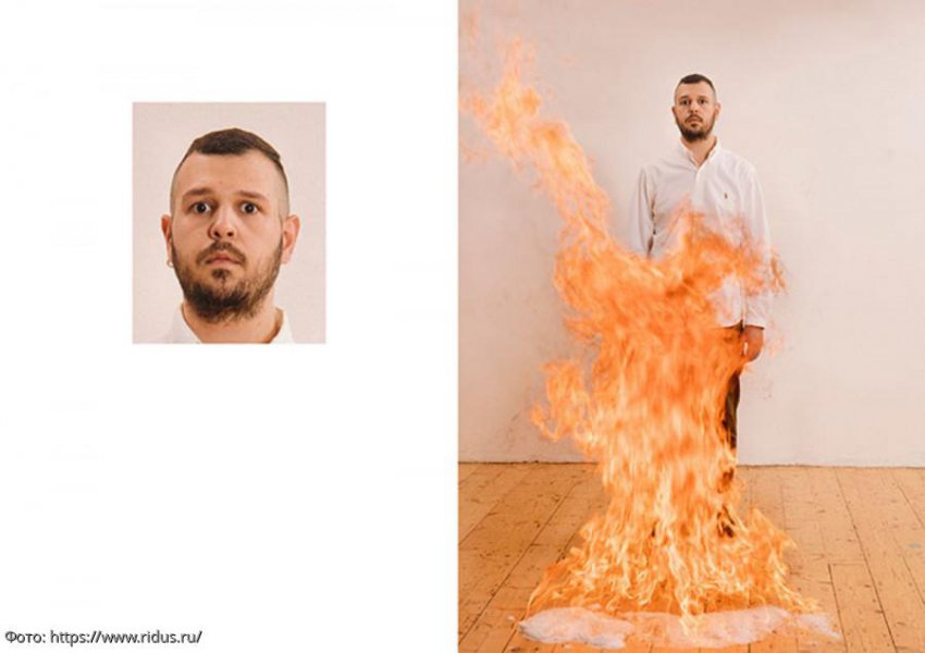Фотограф Макс Зидентопф превратил процедуру фотографирования на паспорт в увлекательное шоу