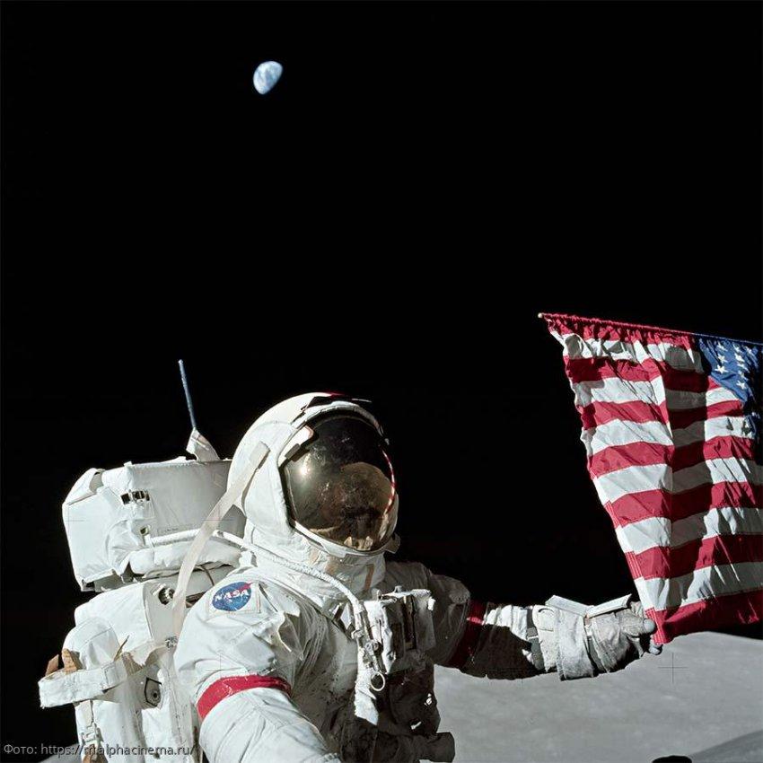 Взлететь с поверхности Луны на корабле