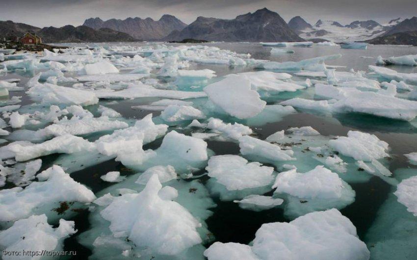 Из-за пожаров в Сибири льды в Арктике стали таять сильнее