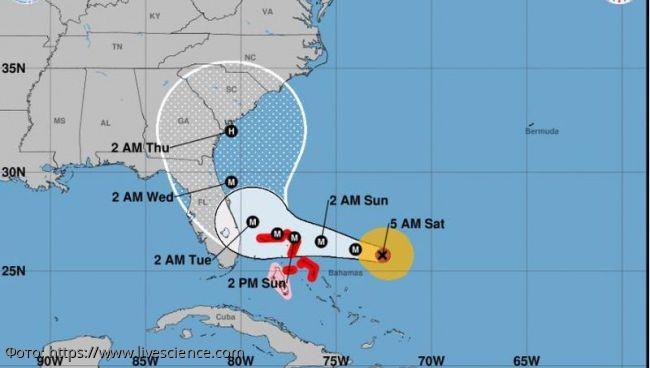 Ураган Дориан стал штормом 4 категории