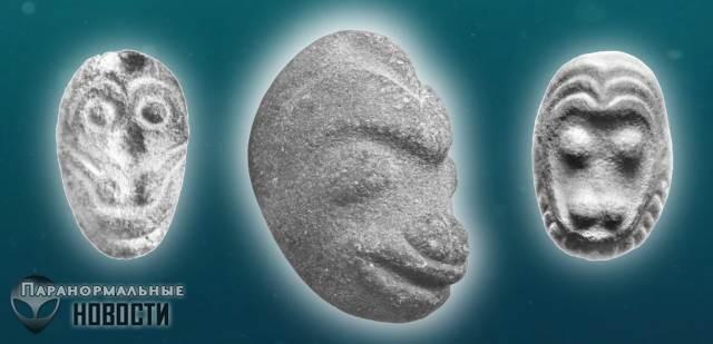 Археологическая загадка: Каменные обезьяньи головы из Орегона | Загадочные сооружения | Паранормальные новости