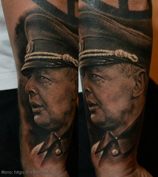 Татуировки немецких солдат, с которыми они боялись попадать в плен