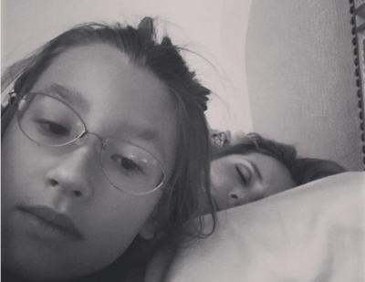 Дочь Светланы Лободы показала спящую мать