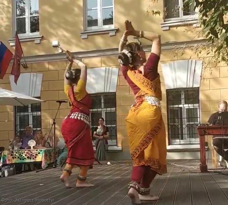 В Доме Гоголя прошел фестиваль индийской культуры