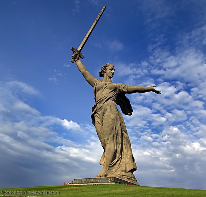 Внутреннее устройство статуи Родина-мать
