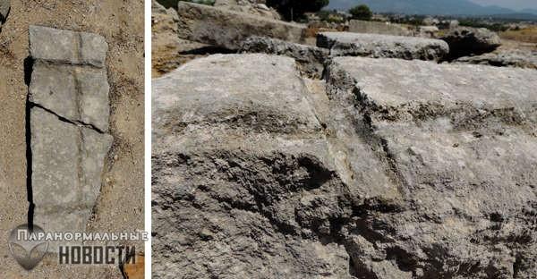 В древнегреческих храмах нашли следы работы неизвестных механизмов | Тайны истории | Паранормальные новости