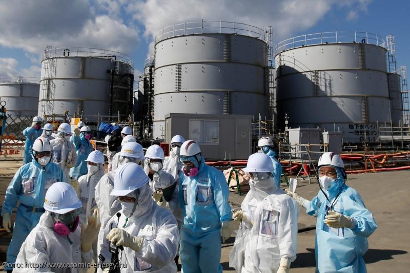 Японцы планируют радиоактивную воду со станции Фукусима сбросить в Тихий океан