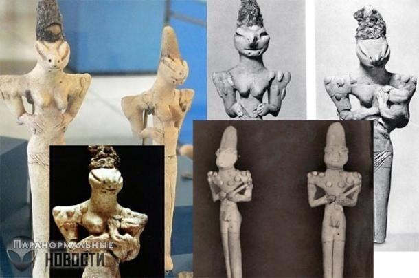 Археологическая загадка: Кого изображают фигурки Людей-ящериц из Ирака? | Загадочные сооружения | Паранормальные новости