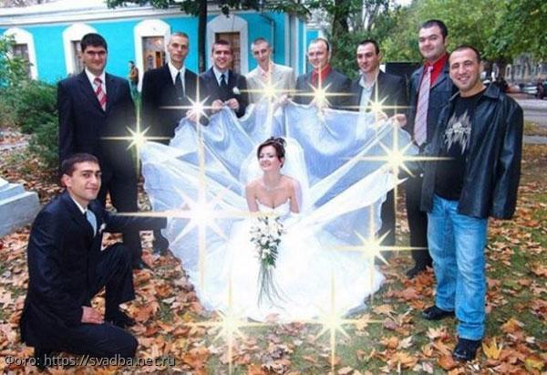 10 самых неудачных свадебных фотографий