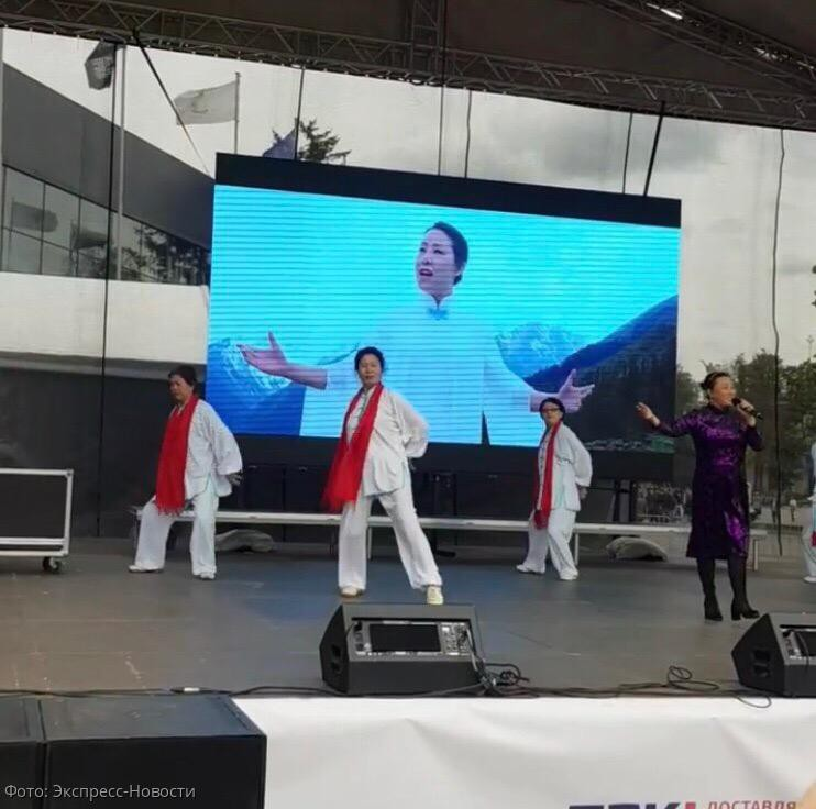 На ВДНХ прошел фестиваль Китая