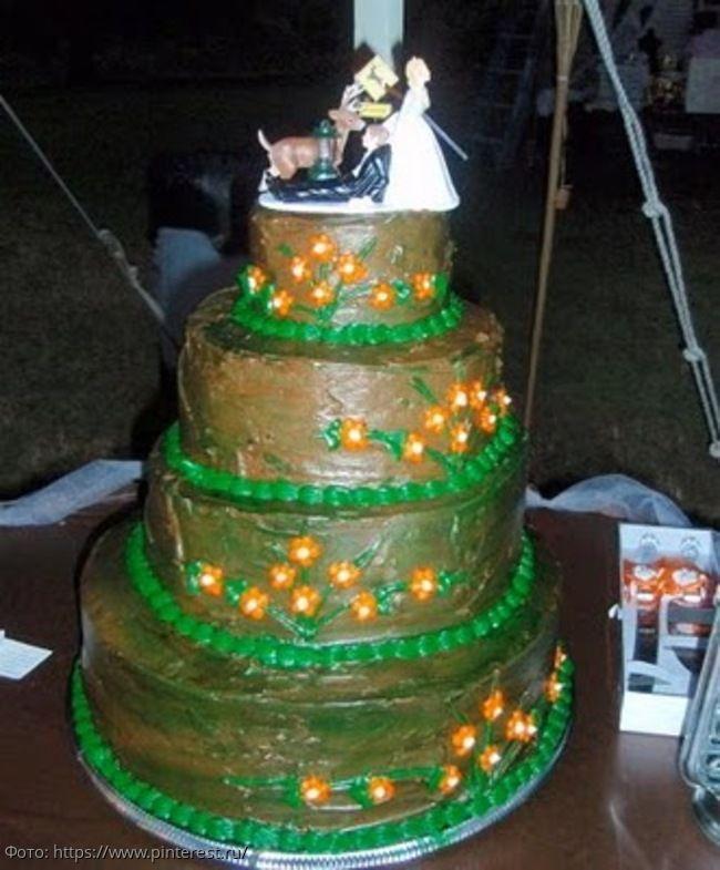 7 самых неудавшихся свадебных тортов