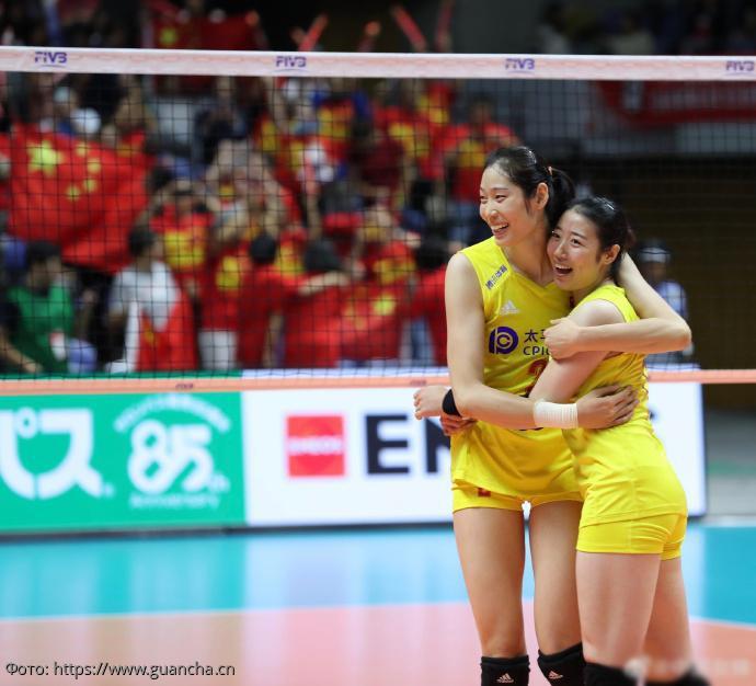 На Чемпионате мира по волейболу среди женщин сборная Китая разгромила сборную США