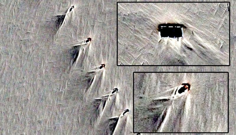 В Антарктиде из-под снега снова показалась заброшенная база