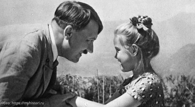 Печальная судьба красивой еврейской девочки, которую называли лучшим другом Гитлера