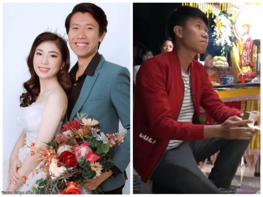 Парень из Вьетнама женился на погибшей невесте прямо на ее похоронах