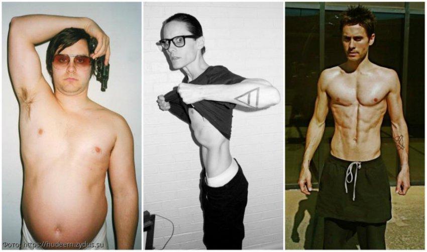 Знаменитости, которые изменили свой вес ради роли в фильме