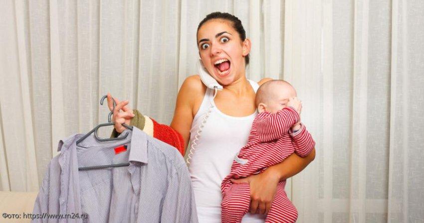 Три вещи, на которые молодые мамы тратят слишком много времени