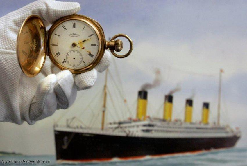 Предметы с затонувшего Титаника, проданные на аукционе за большие деньги