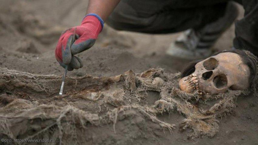 Ученые нашли самое крупное захоронение принесенных в жертву детей