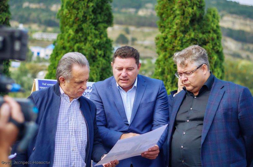 Заместитель председателя правительства России Виталий Мутко побывал с рабочим визитом в Кисловодске
