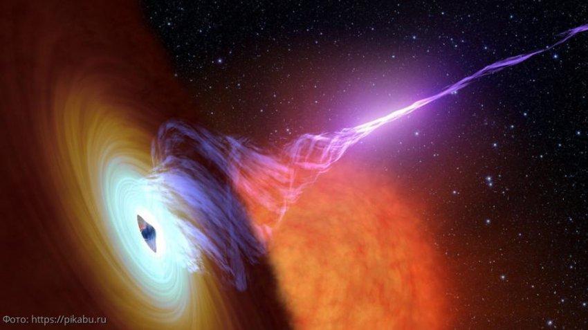 Черная дыра в далекой галактике каждые 9 часов посылает к Земле яркий поток рентгеновских лучей