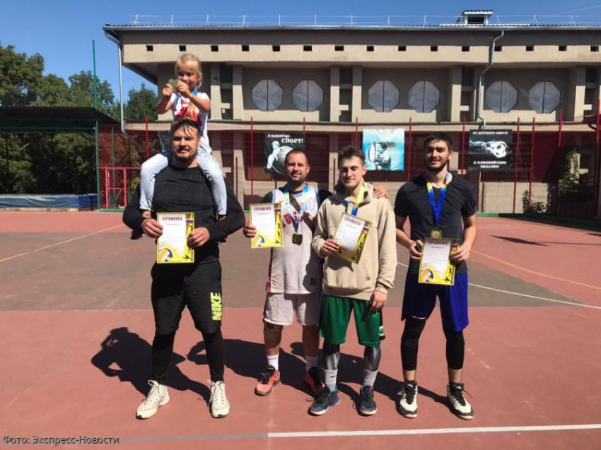 В Кисловодске прошли соревнования по стритболу