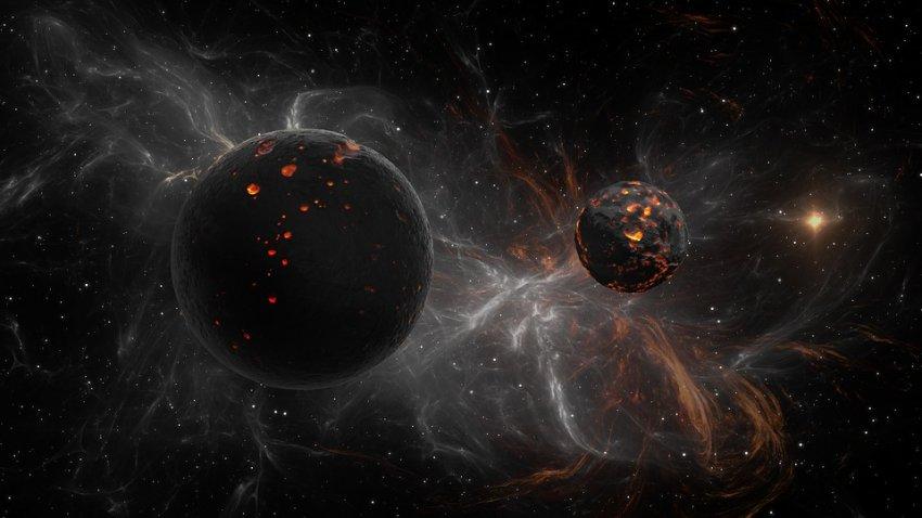 Из соседней галактики кто-то регулярно посылает на Землю хлопки