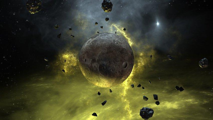 К Земле приближается огромная планета